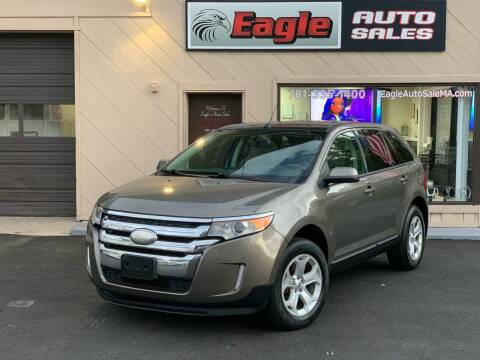 2013 Ford Edge for sale at Eagle Auto Sales LLC in Holbrook MA
