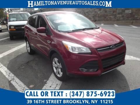 2016 Ford Escape for sale at Hamilton Avenue Auto Sales in Brooklyn NY