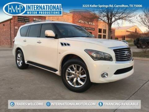 2014 Infiniti QX80 for sale at International Motor Productions in Carrollton TX