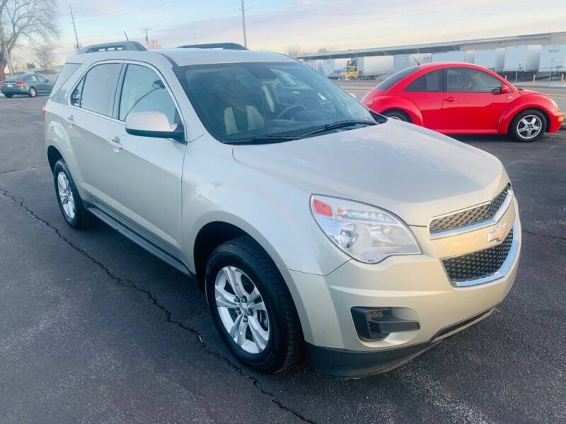 2013 Chevrolet Equinox for sale at Central Iowa Auto Sales in Des Moines IA
