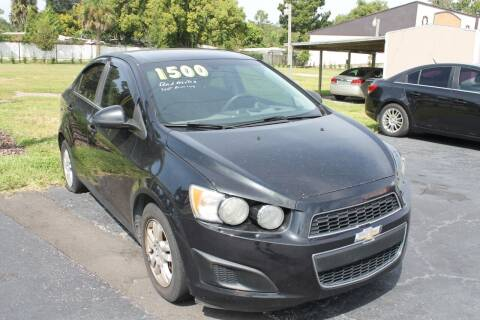 2014 Chevrolet Sonic for sale at Pasco Auto Mart in New Port Richey FL