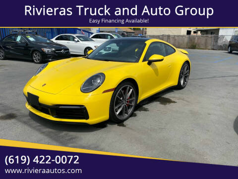 2020 Porsche 911 for sale at Rivieras Truck and Auto Group in Chula Vista CA