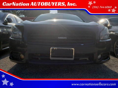 2012 Nissan Maxima for sale at CarNation AUTOBUYERS, Inc. in Rockville Centre NY