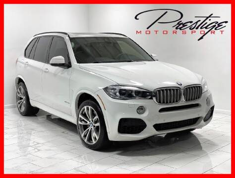 2015 BMW X5 for sale at Prestige Motorsport in Rancho Cordova CA