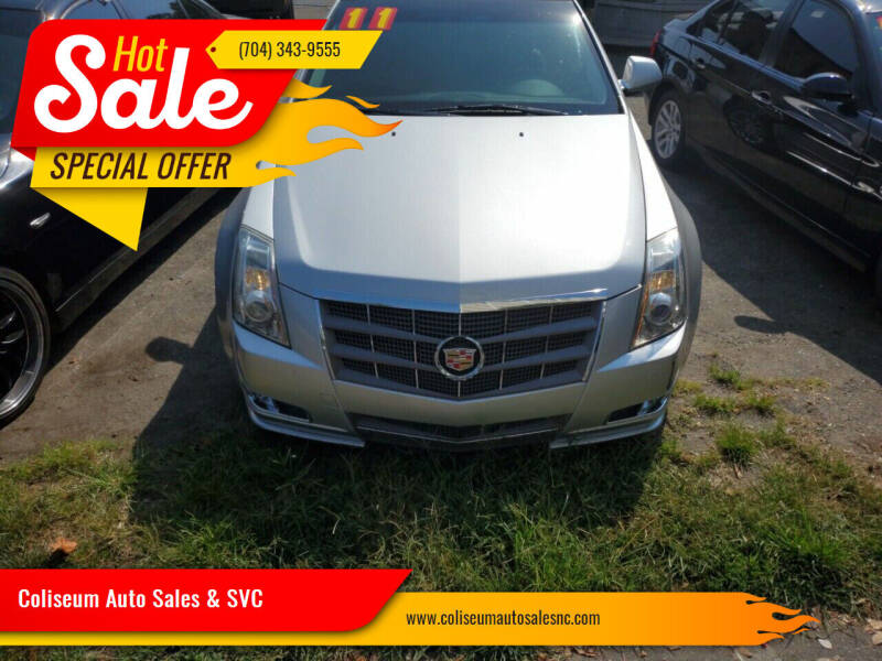 2011 Cadillac CTS for sale at Coliseum Auto Sales & SVC in Charlotte NC