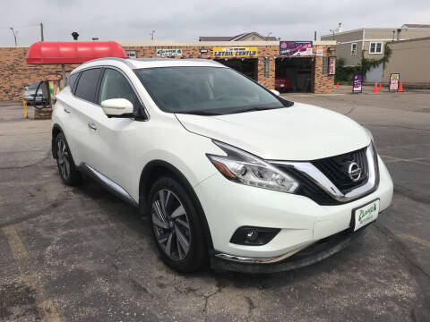 2015 Nissan Murano for sale at Carney Auto Sales in Austin MN