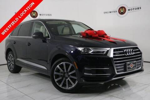 2018 Audi Q7 for sale at INDY'S UNLIMITED MOTORS - UNLIMITED MOTORS in Westfield IN