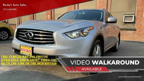 2012 Infiniti FX35 for sale at Rocky's Auto Sales in Worcester MA
