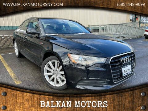 2013 Audi A6 for sale at BALKAN MOTORS in East Rochester NY