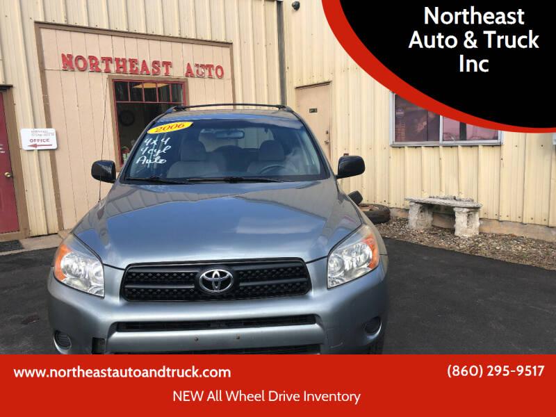 2006 Toyota RAV4 for sale at Northeast Auto & Truck Inc in Marlborough CT