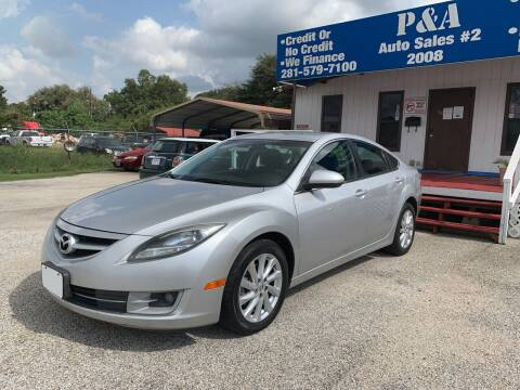 2012 Mazda MAZDA6 for sale at P & A AUTO SALES in Houston TX