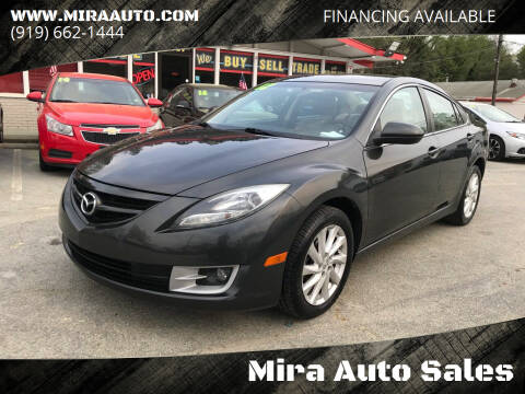 2012 Mazda MAZDA6 for sale at Mira Auto Sales in Raleigh NC