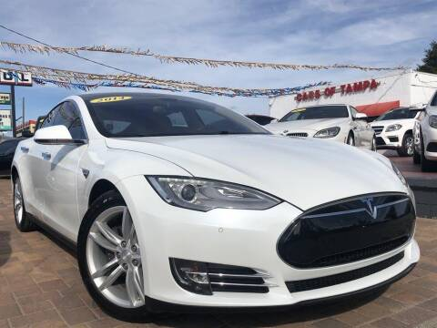 2014 Tesla Model S for sale at Cars of Tampa in Tampa FL