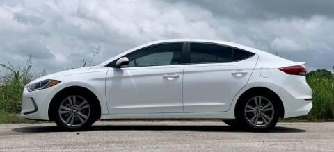 2018 Hyundai Elantra for sale at Palmer Auto Sales in Rosenberg TX