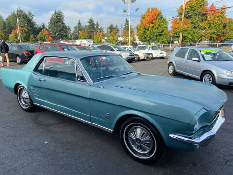 1966 Ford Mustang for sale at Pacific Point Auto Sales in Lakewood WA