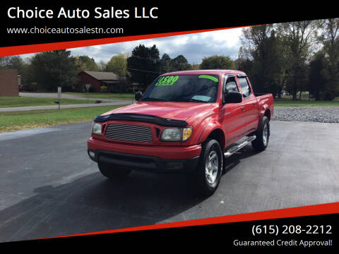 2004 Toyota Tacoma for sale at Choice Auto Sales LLC - Buy Here Pay Here in White House TN