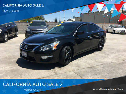 2015 Nissan Altima for sale at CALIFORNIA AUTO SALE 2 in Livingston CA