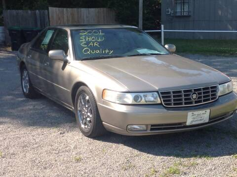 2001 Cadillac Seville for sale at GIB'S AUTO SALES in Tahlequah OK