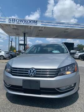 2014 Volkswagen Passat for sale at Showroom Auto Sales of Charleston in Charleston SC