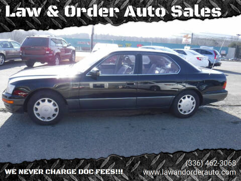 1997 Lexus LS 400 for sale at Law & Order Auto Sales in Pilot Mountain NC