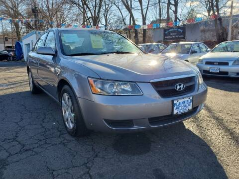 2008 Hyundai Sonata for sale at New Plainfield Auto Sales in Plainfield NJ