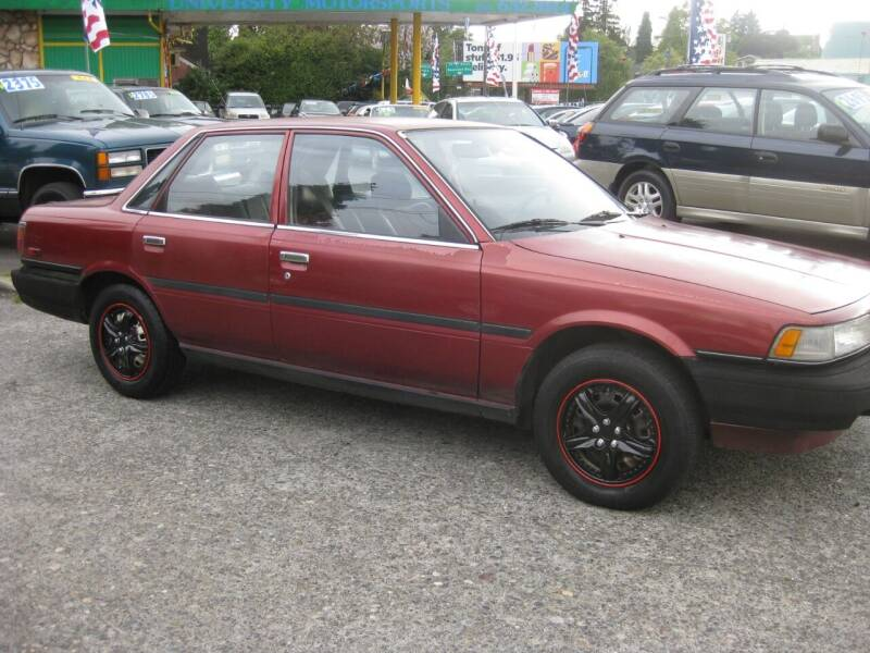 1989 Toyota Camry for sale at UNIVERSITY MOTORSPORTS in Seattle WA