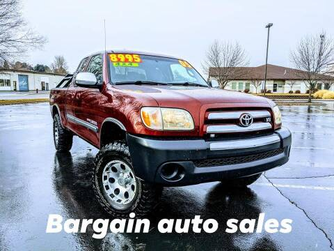 2005 Toyota Tundra for sale at Bargain Auto Sales LLC in Garden City ID