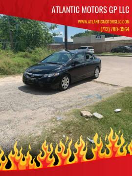2009 Honda Civic for sale at ATLANTIC MOTORS GP LLC in Houston TX