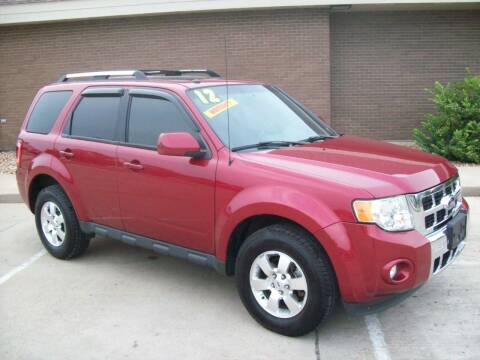 2012 Ford Escape for sale at Cliff Bland & Sons Used Cars in El Dorado Springs MO