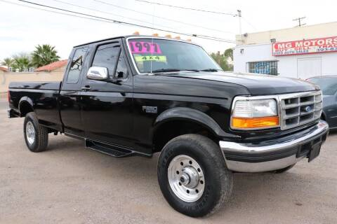 1997 Ford F-250 for sale at MG Motors in Tucson AZ