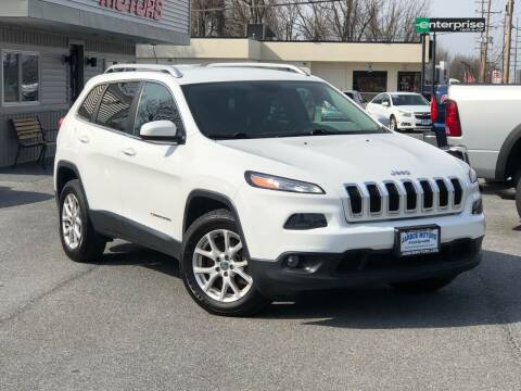 2015 Jeep Cherokee for sale at Jarboe Motors in Westminster MD