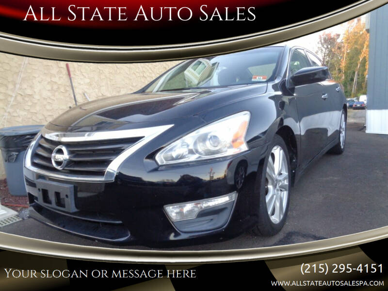 2013 Nissan Altima for sale at All State Auto Sales in Morrisville PA