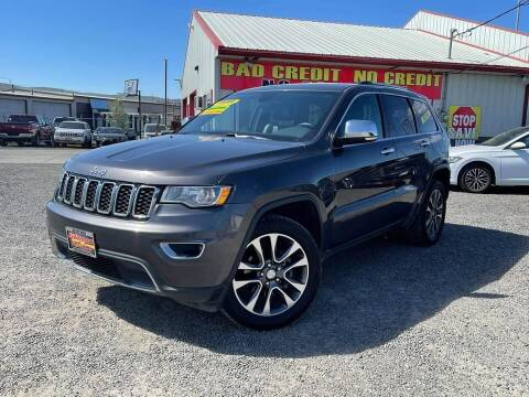 2018 Jeep Grand Cherokee for sale at Yaktown Motors in Union Gap WA