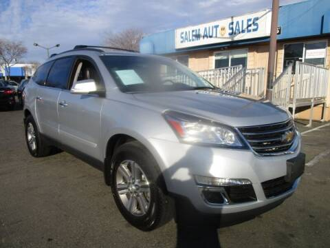 2016 Chevrolet Traverse for sale at Salem Auto Sales in Sacramento CA