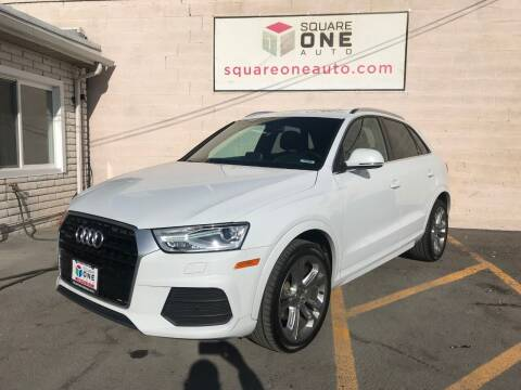 2016 Audi Q3 for sale at SQUARE ONE AUTO LLC in Murray UT