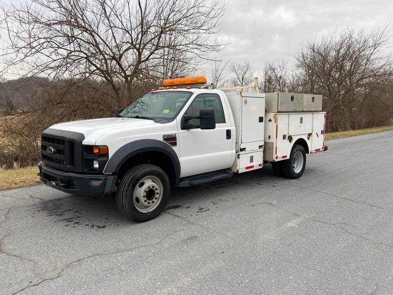 2008 Ford F-550 Super Duty for sale at XLR8 Diesel Trucks in Woodsboro MD