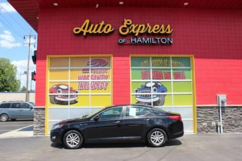 2012 Kia Optima for sale at AUTO EXPRESS OF HAMILTON LLC in Hamilton OH