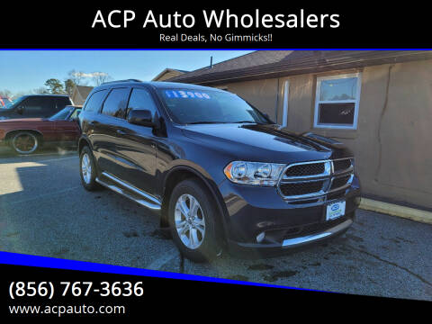 2013 Dodge Durango for sale at ACP Auto Wholesalers in Berlin NJ