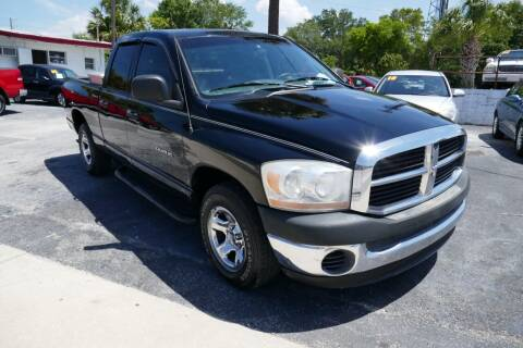 2006 Dodge Ram Pickup 1500 for sale at J Linn Motors in Clearwater FL