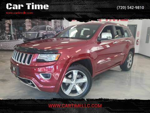 2014 Jeep Grand Cherokee for sale at Car Time in Denver CO