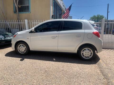2018 Mitsubishi Mirage for sale at Top Gun Auto Sales, LLC in Albuquerque NM