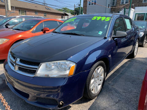 2014 Dodge Avenger for sale at Barnes Auto Group in Chicago IL