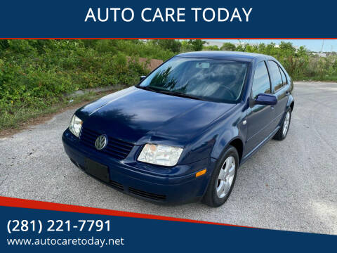 2003 Volkswagen Jetta for sale at AUTO CARE TODAY in Spring TX