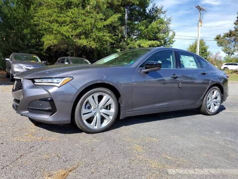 2021 Acura TLX for sale at CU Carfinders in Norcross GA