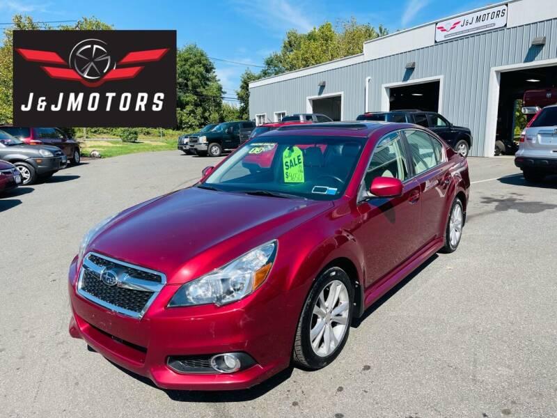 2013 Subaru Legacy for sale at J & J MOTORS in New Milford CT
