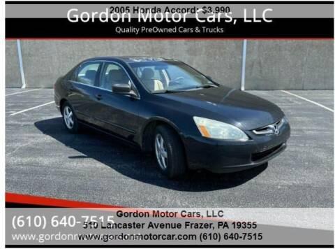 2005 Honda Accord for sale at Gordon Motor Cars, LLC in Frazer PA
