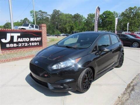 2015 Ford Fiesta for sale at J T Auto Group in Sanford NC