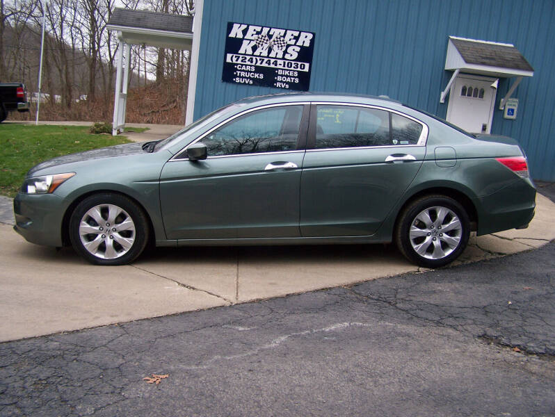 2008 Honda Accord for sale at Keiter Kars in Trafford PA