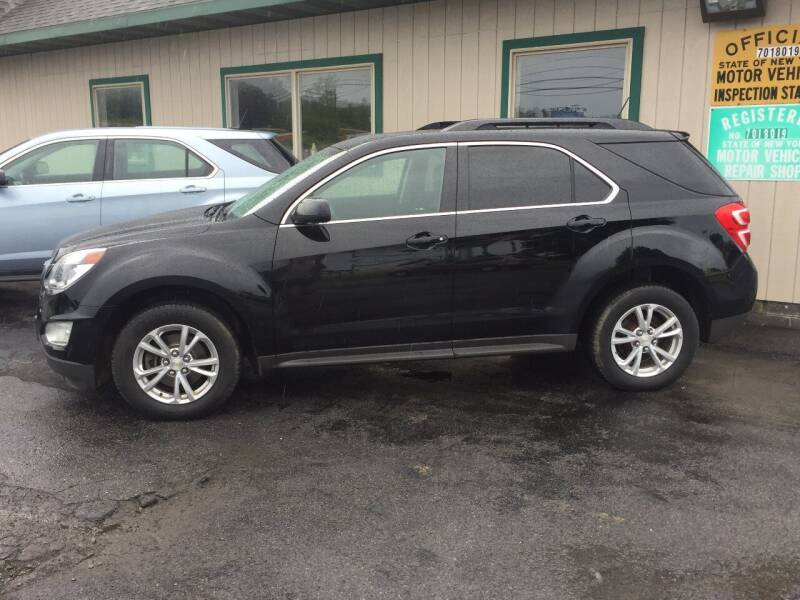 2016 Chevrolet Equinox for sale at Mark Regan Auto Sales in Oswego NY