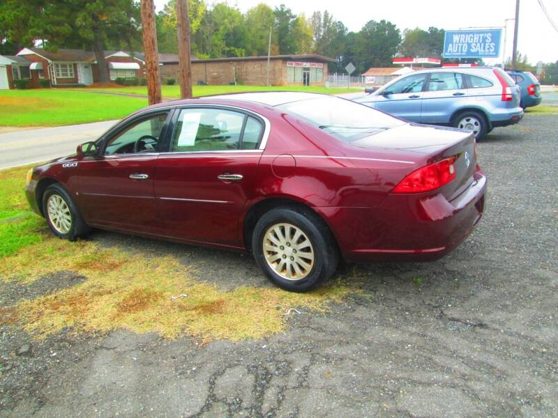 2007 Buick Lucerne for sale at Wright's Auto Sales in Lancaster SC